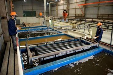 Metal surface treatment process