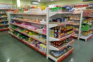 Kệ siêu thị ở tại Bình Dương cho cửa hàng