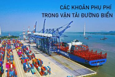 Các loại phụ phí trong vận tải đường biển