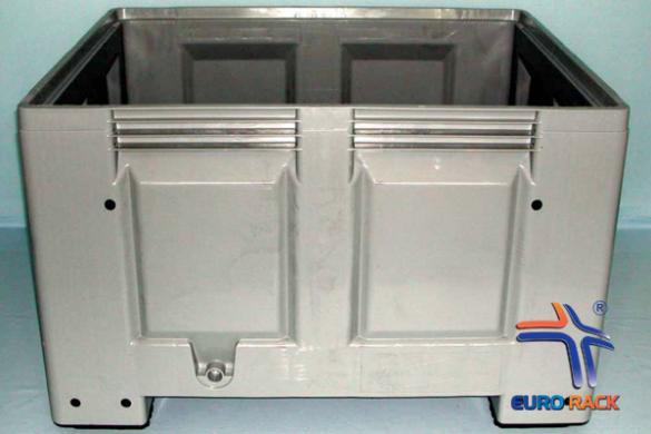 Steel pallet crate