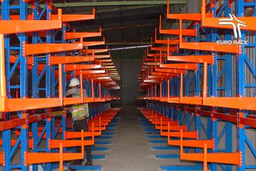 Công trình kệ tay đỡ cho kho hàng quận Tân Bình