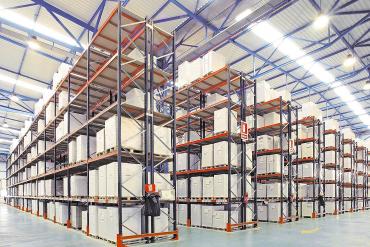Kệ lưu trữ logistics